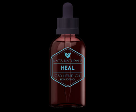 Kat's Naturals CBD Heal Drops