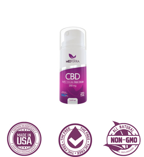 Medterra CBD pain cream
