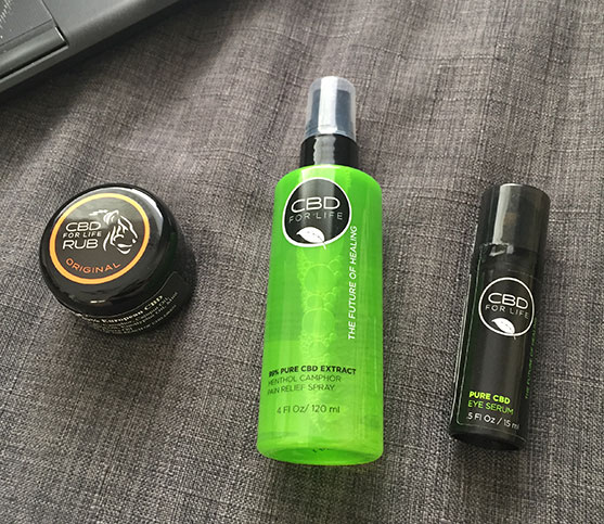 CBD For Life Products