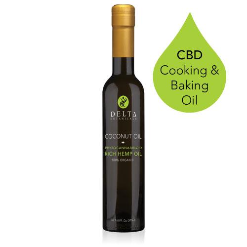 Delta CBD Cooking Hemp Oil
