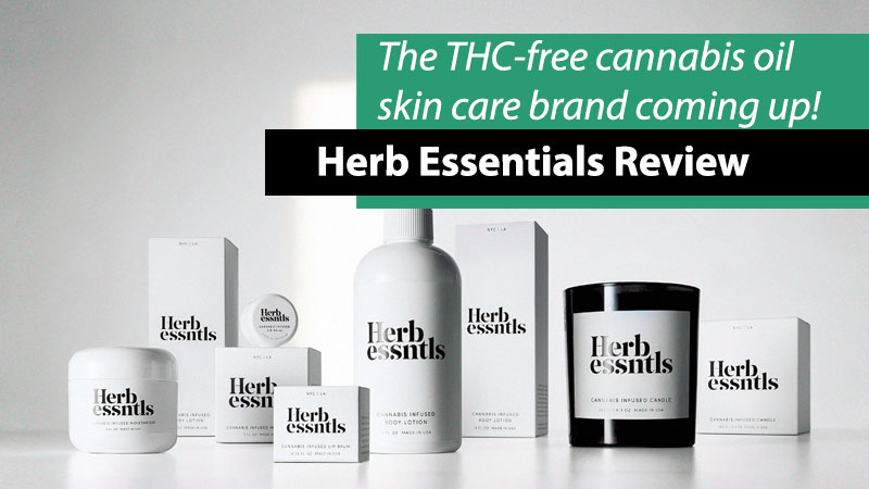 herb essentials cannabis skin care brand
