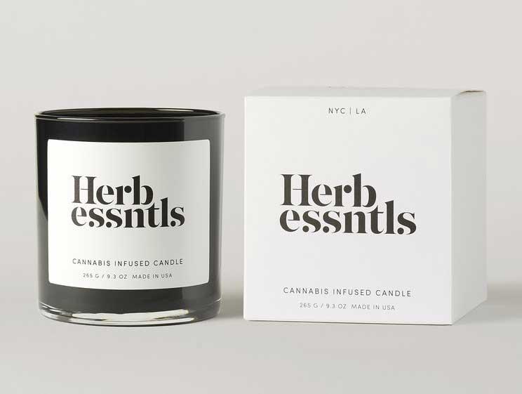 Herb Essntls candle image
