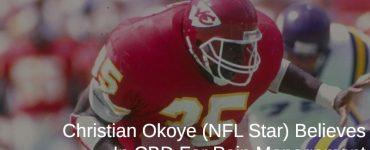 Christian Okoye playing football
