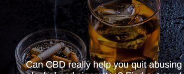 quit smoking and drinking with CBD
