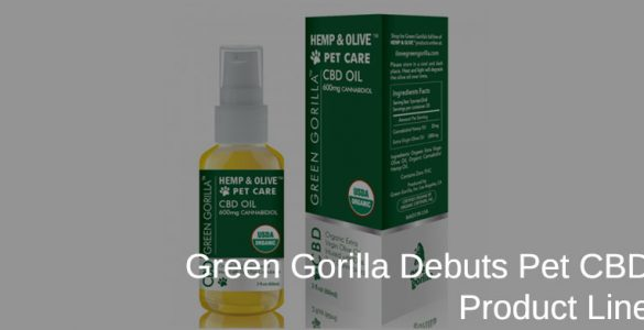 Green Gorilla CBD Pets Supplements