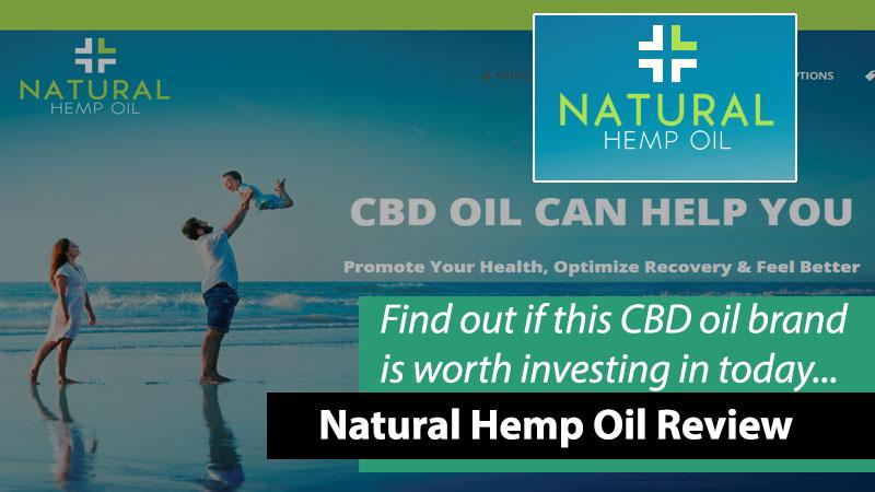 natural hemp oil brand