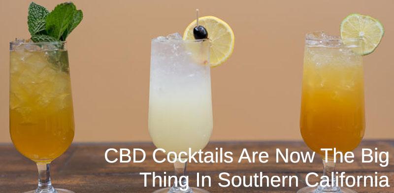 CBD Cocktails trending