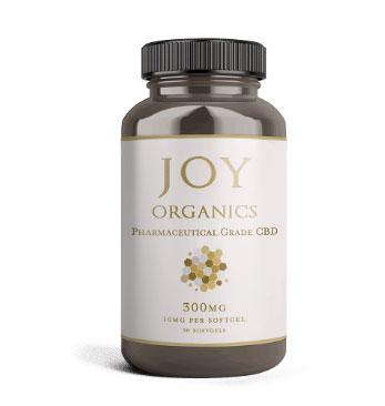 joy organics 300mg CBD soft gels