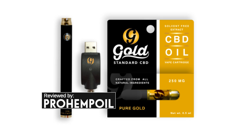 cbd gold vape kit