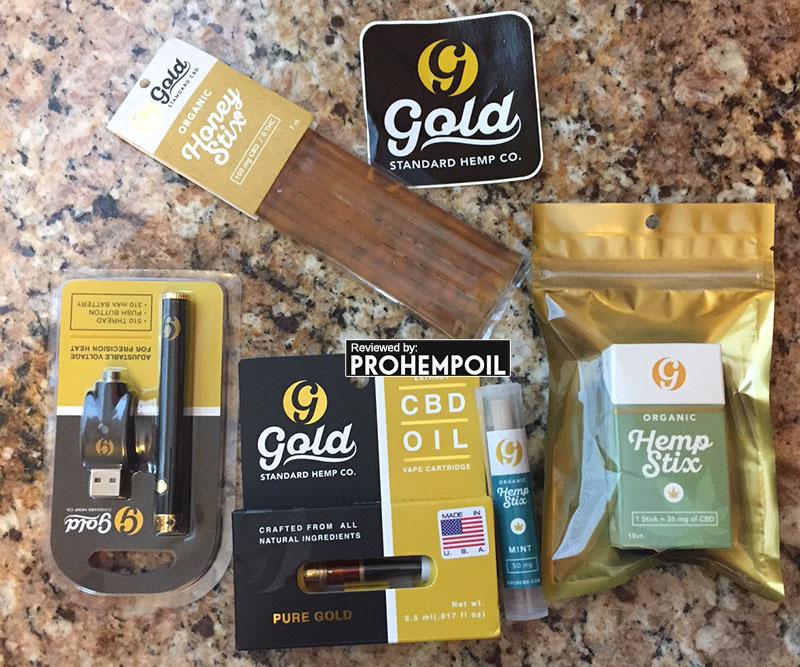 gold standard hemp products