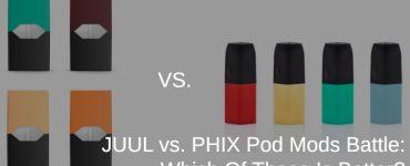 JUUL vs PHIX comparison