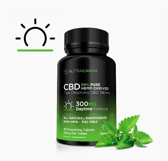 Nutracanna Daytime CBD Tablets
