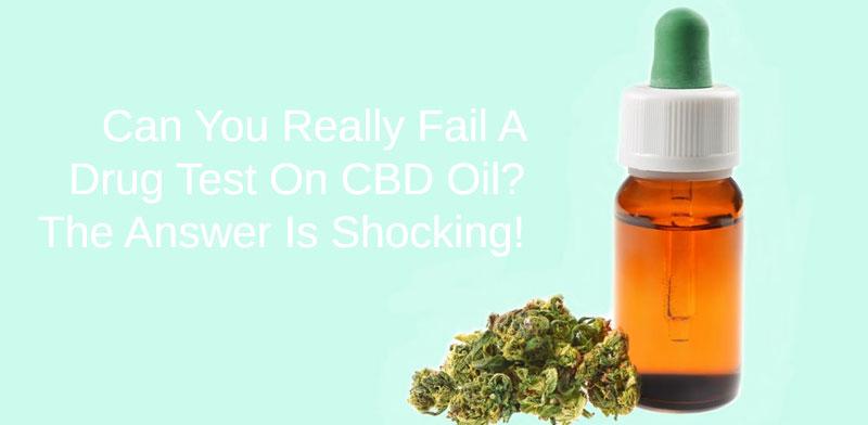 drug test using CBD