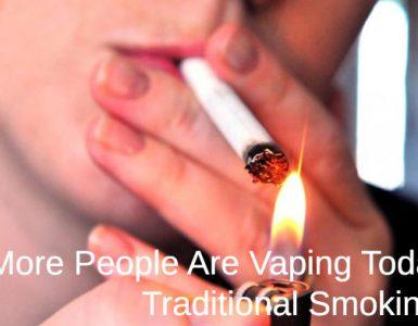 teen smoking a cigarette