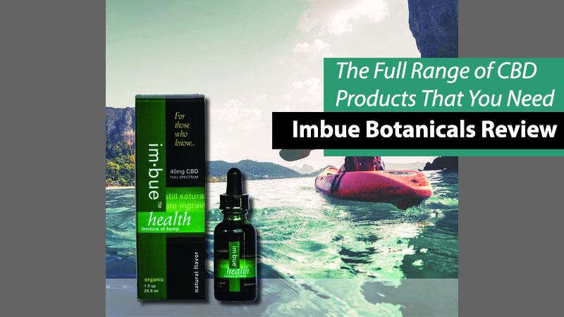 Imbue Botanicals product