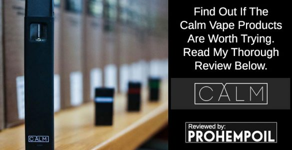 Calm Vape CBD Reviews
