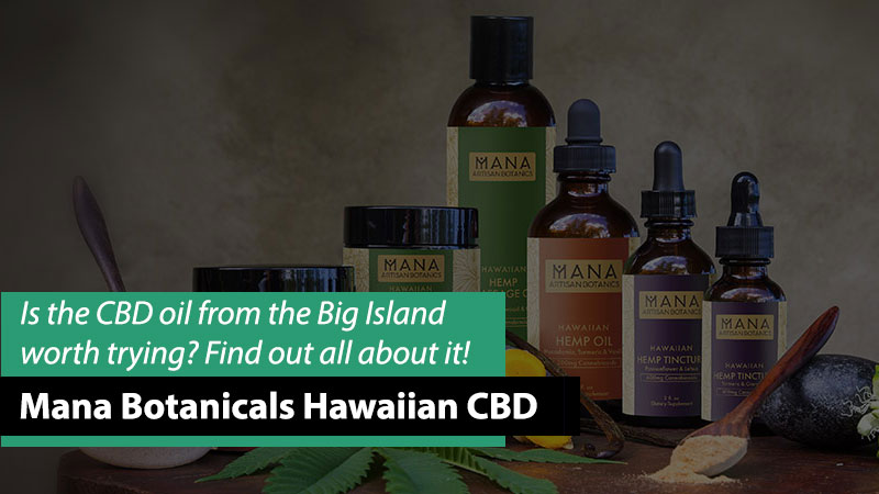 photo of Mana Botanicals products