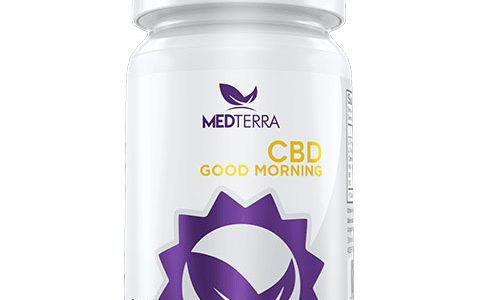 Good Morning Gel Caps by Medterra 25mg CBD