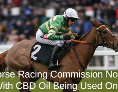 Racehorses and CBD oil