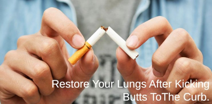 quite smoking, fix your lungs