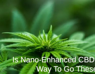 photo of weed getting nano enhanced