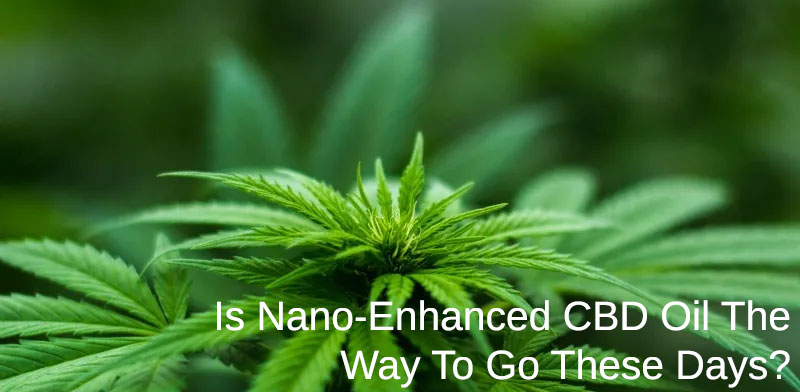 Nano Enhanced Cbd Oil Products Are All The Rage Are They Worth It