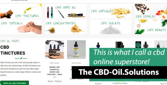 CBD Oil Solutions Site